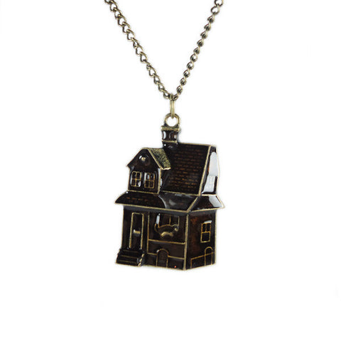 Chocolate House Necklace