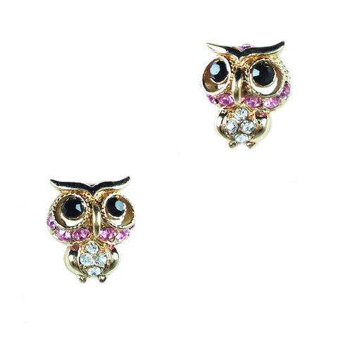 Prof. Owl Stud Earrings