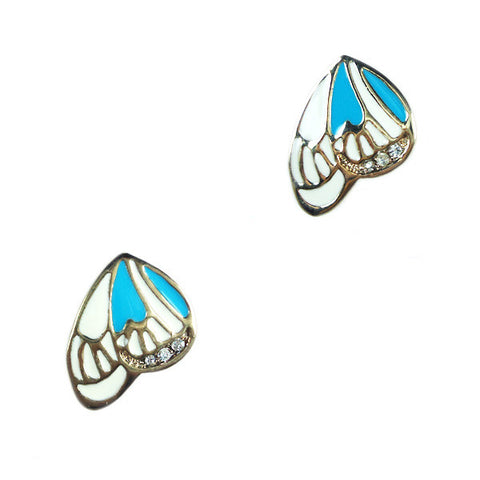 Butterfly Side Stud Earrings