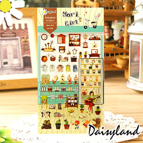 Daisyland Sticker: Mori Girl