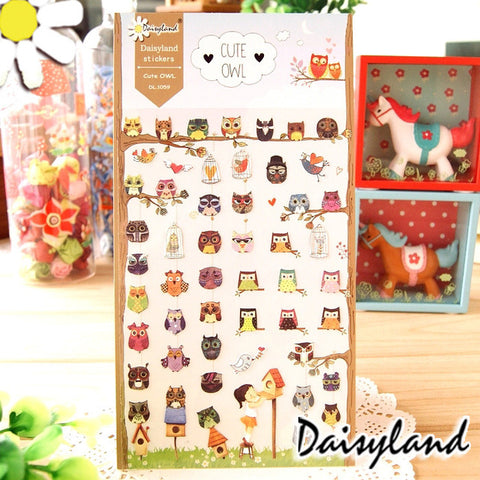 Daisyland Sticker: Cute Owl