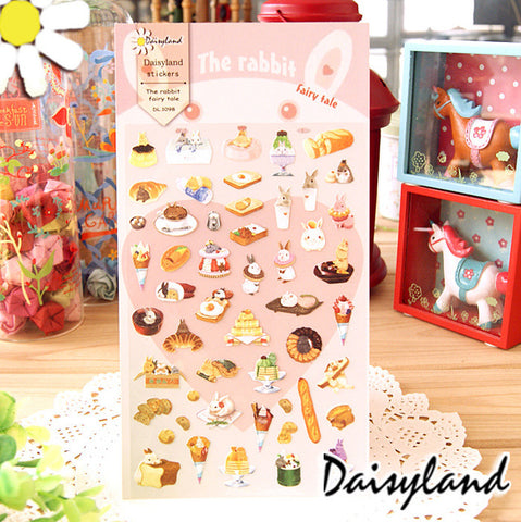 Daisyland Sticker: The Rabbit Fairy Tale