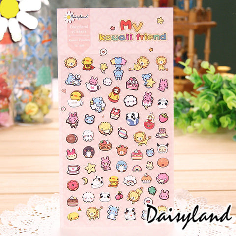 Daisyland Sticker: My Kawaii Friends