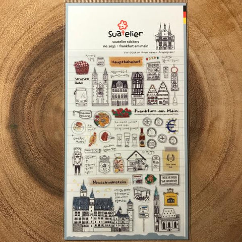 Suatelier Sticker: Frankfurt Am Main