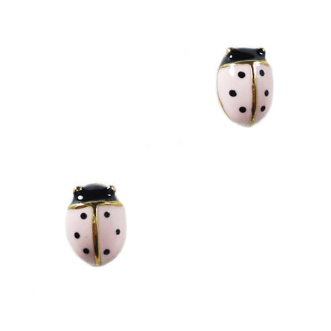 Ladybug Mini Stud Earrings