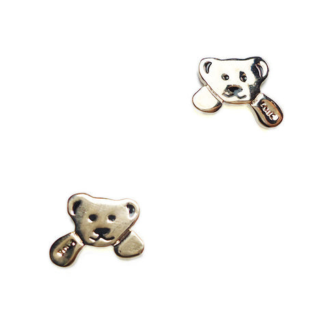 Bear Hug Stud Earrings