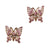 Miss Butterfly Stud Earrings
