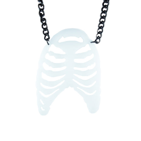 Sternum Laser Cut Necklace