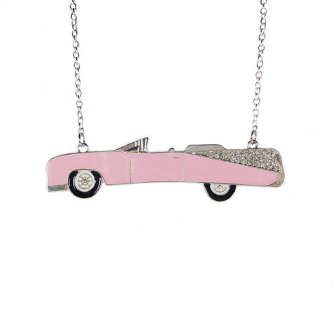 Convertible Vintage Car Necklace