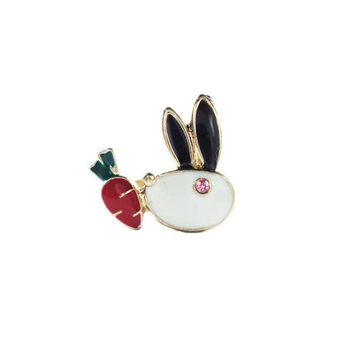 Rabbit and Carrot Ring