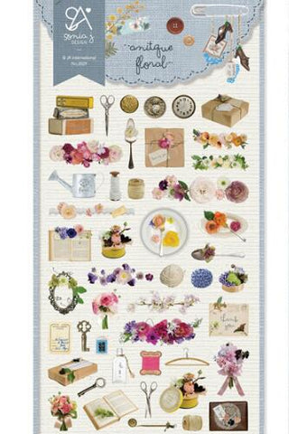 SONIA Sticker: Antique Floral