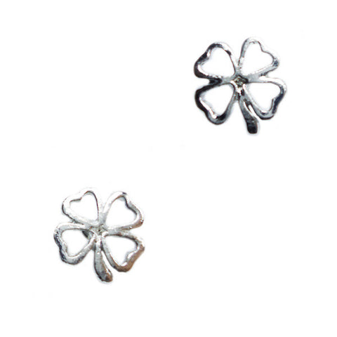 Lucky Cloverleaf Stud Earrings