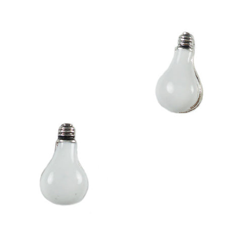 Light Bulb Stud Earrings