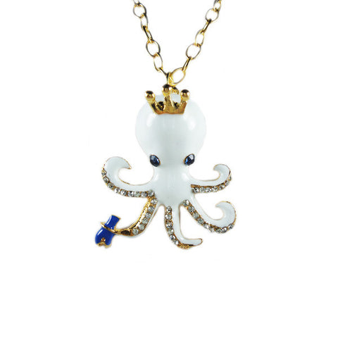 Octopus King Necklace