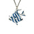 Blueface Angelfish Necklace
