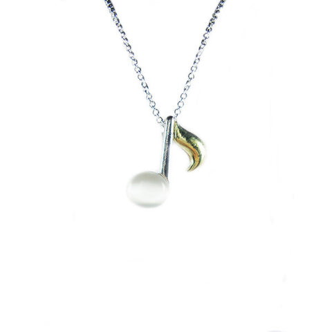 Quaver Eighth Note Necklace