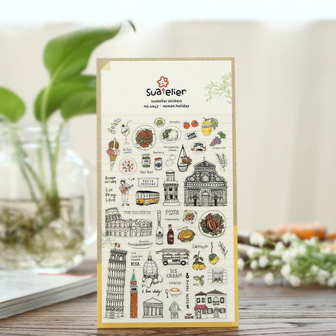 Suatelier Sticker: Roman Holiday