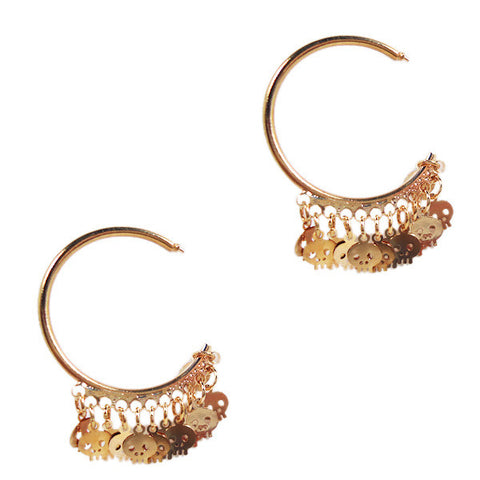 Skull Skull Earrings