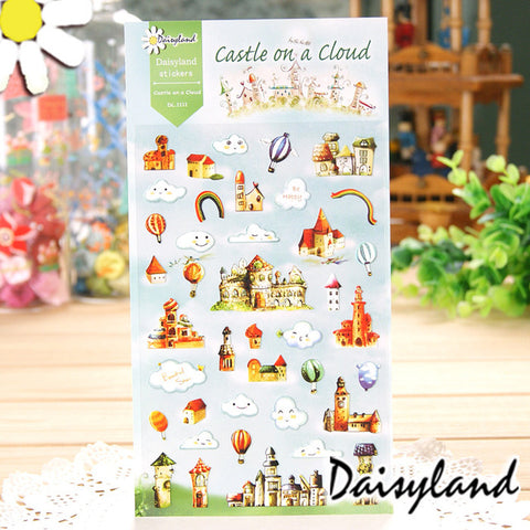 Daisyland Sticker: Castle on a Cloud