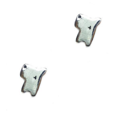 Dizzy Doggy Stud Earrings