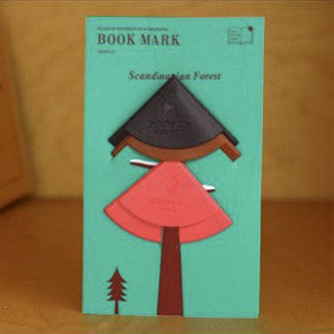 Scandinavian Forest Bookmark Set