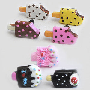 Yummy Earphone Jack Accessories: Popsicle Series