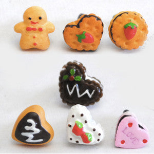 Yummy Earphone Jack Accessories: Cookie Series