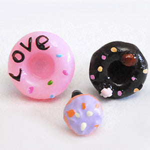 Yummy Earphone Jack Accessories: Donut Series