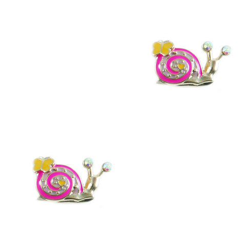 Snail Stud Earrings