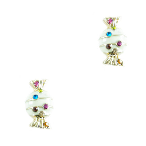 Cream Candy Stud Earrings