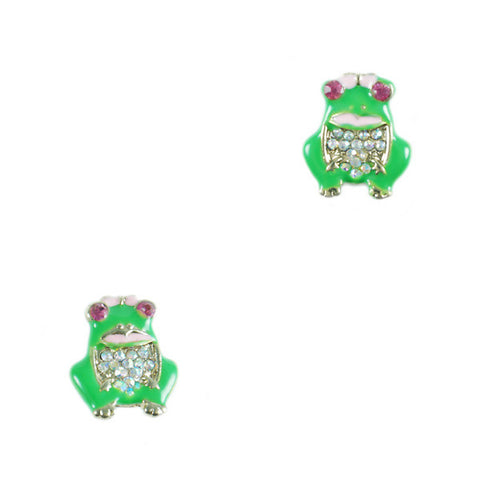 Miss Frog Stud Earrings