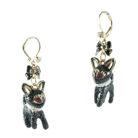 Kitty's Breakfast at Tiffany's Loop Earrings