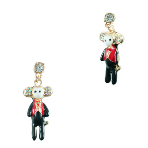 Hotel Monkey Stud Earrings