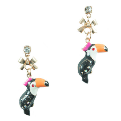 Toco Toucan Earrings