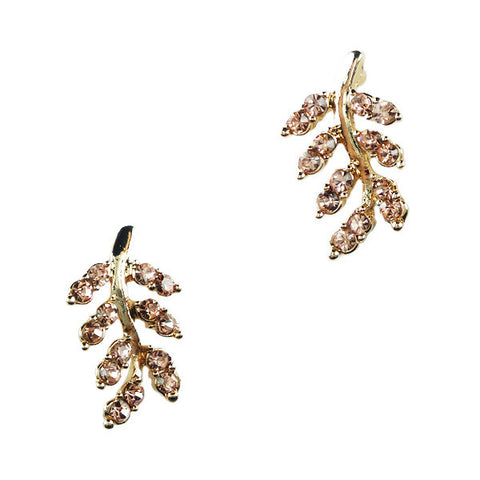 Autumn Leaf Stud Earrings