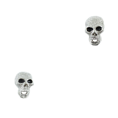 Shining Skull Stud Earrings