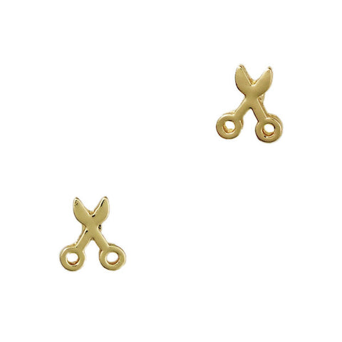 Mini Scissor Stud Earrings