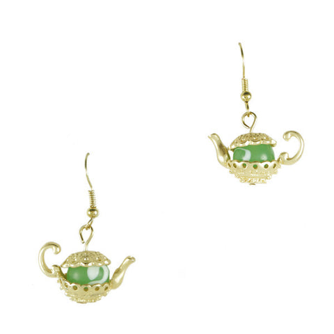 Mrs. Potts Earrings