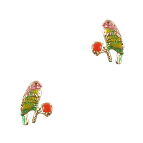 Spring Bird Stud Earrings