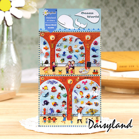 Daisyland Sticker: Ocean World