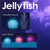 I Love New Yoku Bath Light - Jellyfish