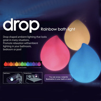 Love New Yoku Bath Light - Drop Rainbow Gradation