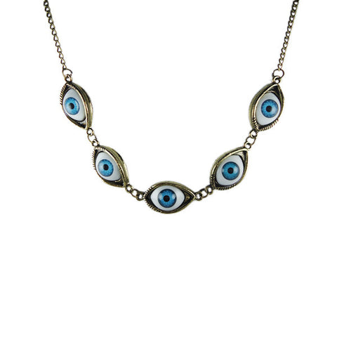 Angel's Eye Multi Panel Necklace