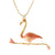 Dancing Flamingo Necklace