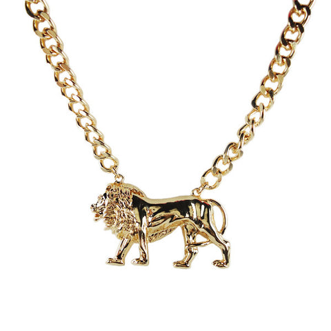 Walk Like Lion Necklace