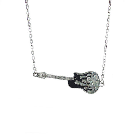 Rocker Guitar Necklace