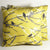 Joel Dewberry Sparrows Pillow: Yellow