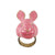 Pink Rabbit 3D Ring