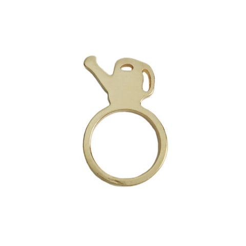 My Cute Watering Can Ring