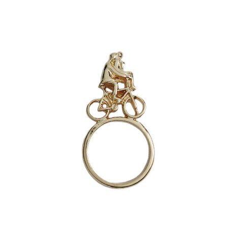 Rinding Bicycle with You Ring